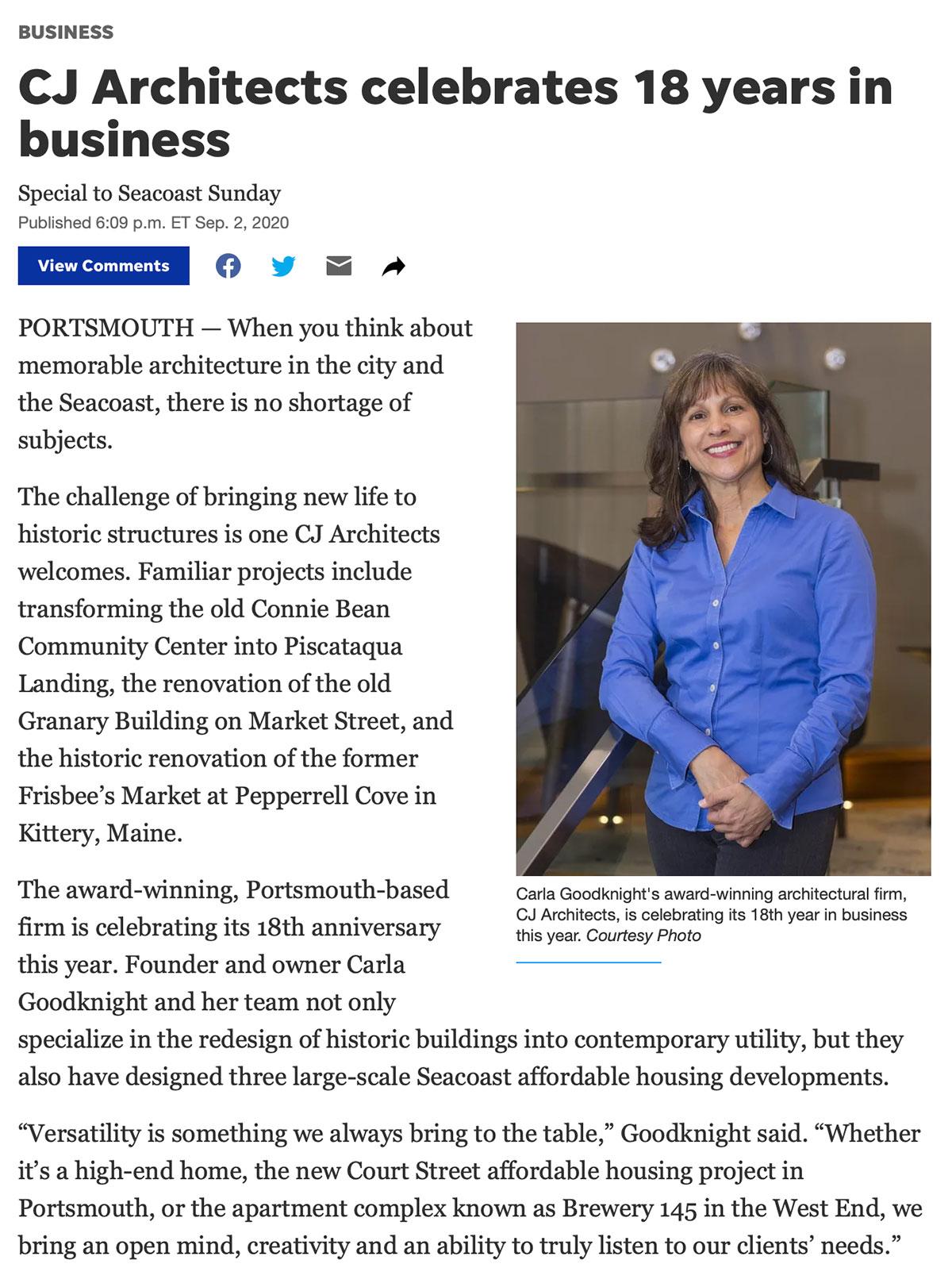 Seacoast Online Story